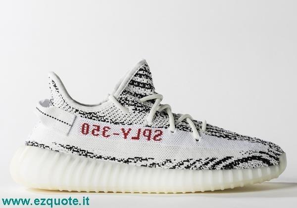 adidas yeezy bianche e nere