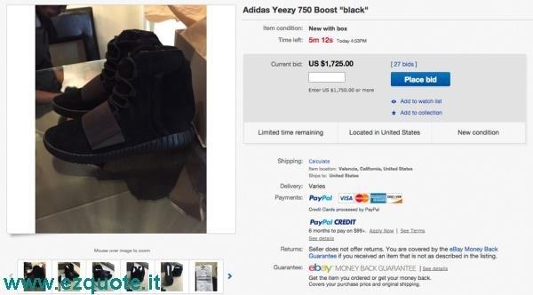the latest 7cade ca4a7 Adidas Yeezy Ebay