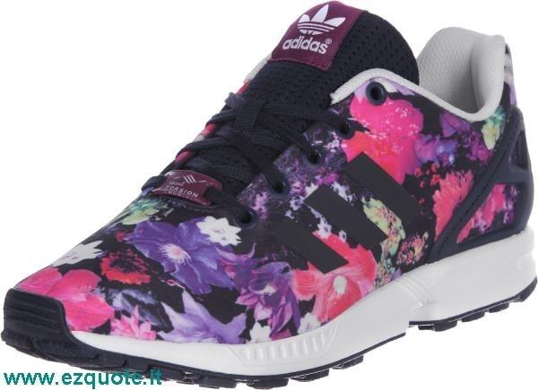 adidas zx flux a fiori