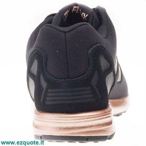 adidas zx flux nere e rame