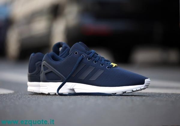 adidas zx blu uomo