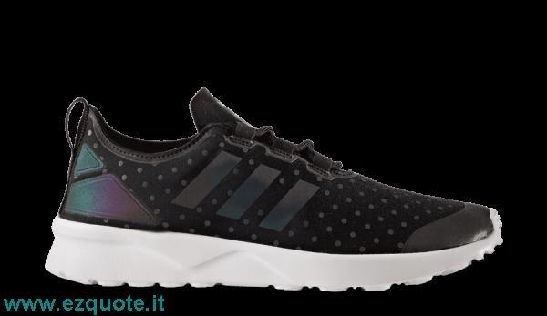 adidas zx flux nere napoli