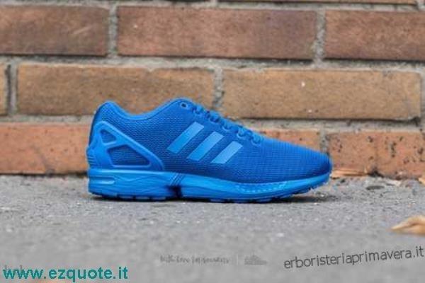 scarpe adidas zx flux blu