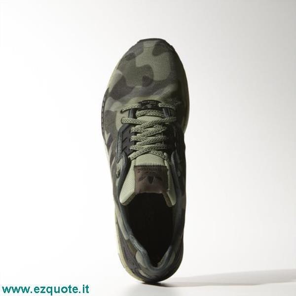 Scarpe Uomo Adidas Zx Flux Decon Verde Mimetico ezquote.it