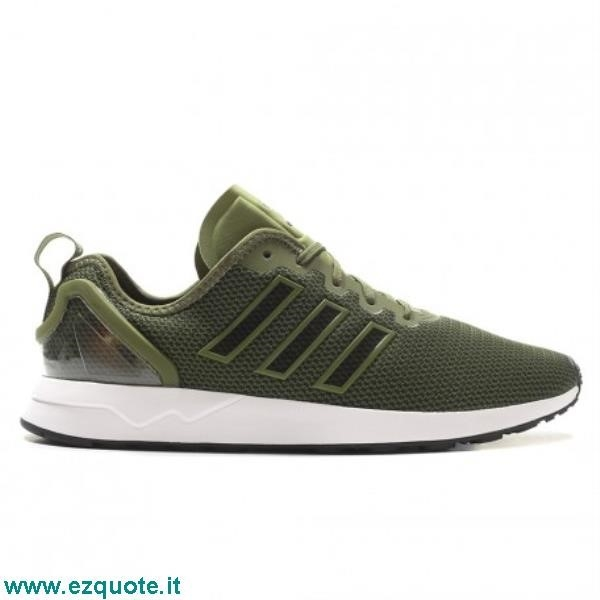 official photos 8cbb5 042a2 Scarpe Uomo Adidas Zx Flux Decon Verde Mimetico