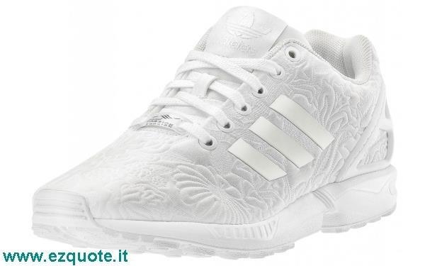 adidas zx flux bianche