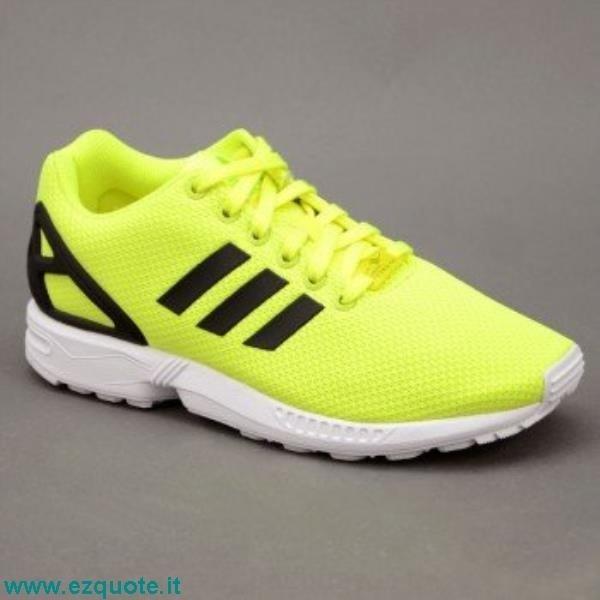 adidas zx flux gialla