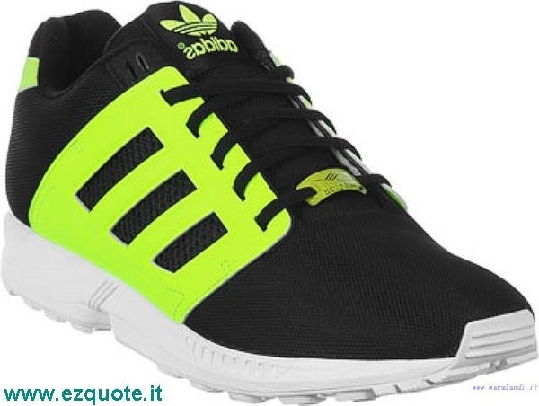 Adidas Zx Flux Gialle Fluo