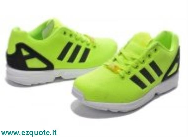 timeless design 86b0e 53181 Adidas Zx Flux Giallo Fluo