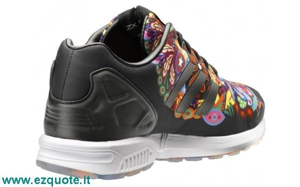 adidas zx flux italia independent scarpa uomo