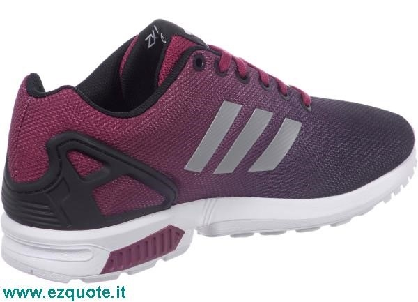adidas zx flux rosse e nere