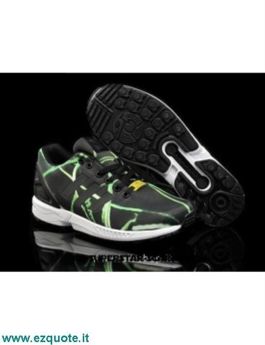 huge discount 109e5 ee3e2 Adidas Zx Flux Uomo Scontate