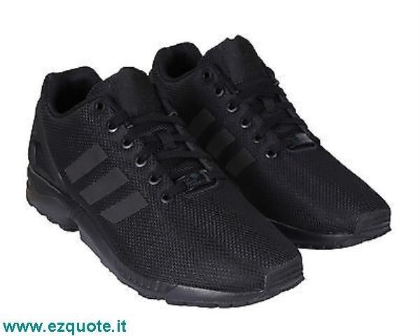 adidas zx flux nere uomo