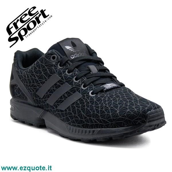 Zx Flux Nere E Gialle