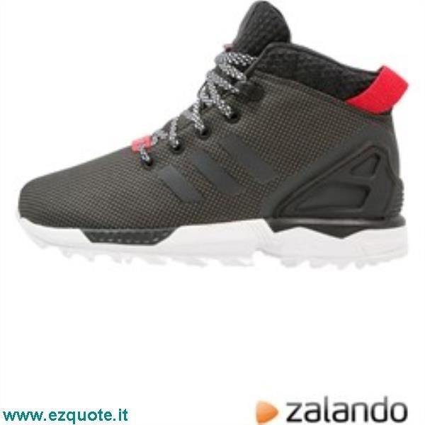 on sale 5f9df 829dc ... sneakers basse core black white zalando neri sintetico uhuim184 be73d  9bb2e  low price zx flux adidas zalando ac71e 58e81