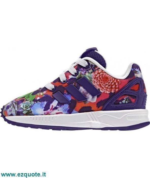 scarpe adidas zx flux leopardate