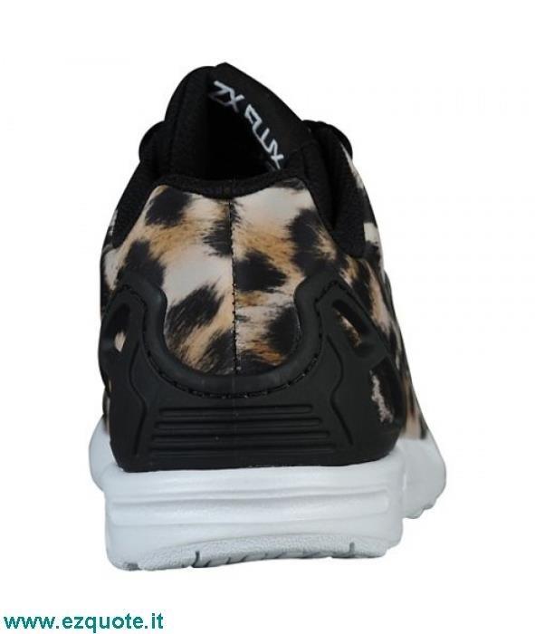 Scarpe Adidas Zx Flux Leopardate ezquote.it 2cbe7feaefe