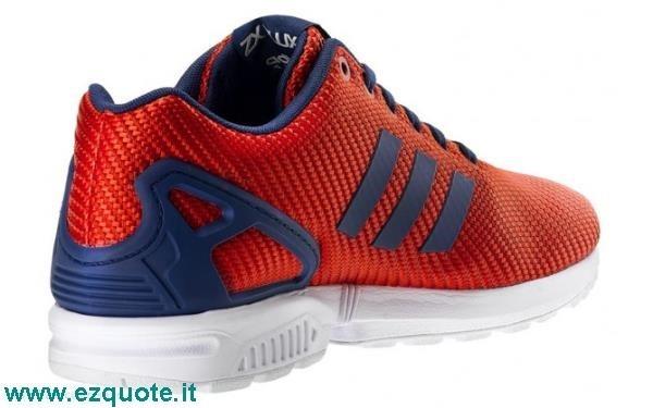 zx flux adidas rosse