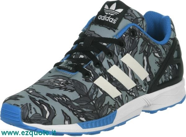adidas zx flux grigie e nere