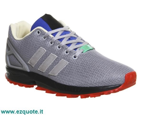 adidas zx flux grigie e blu