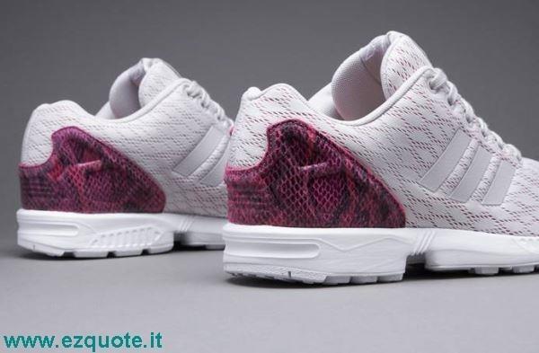 adidas zx flux grigie e rosa
