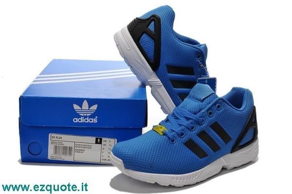 scarpe adidas flux blu