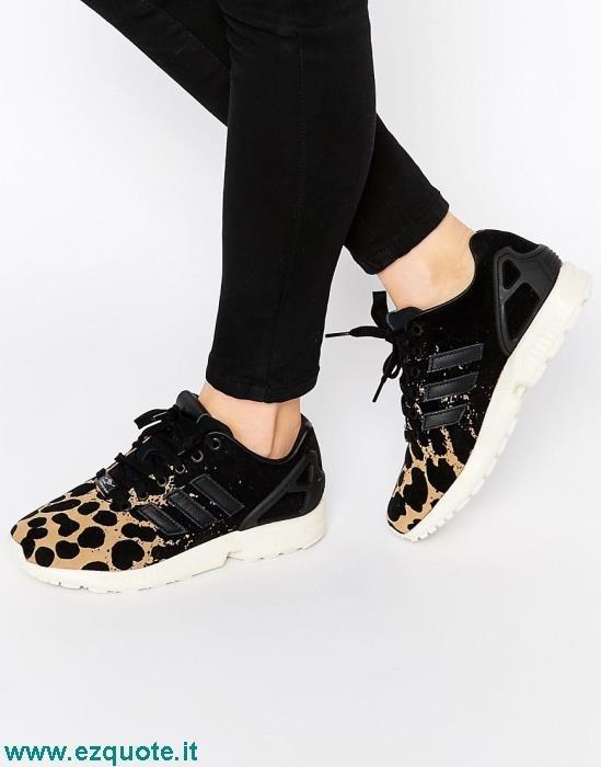scarpe adidas zx flux leopardate prezzi