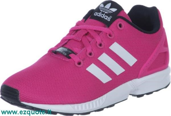 adidas zx flux rosa donna