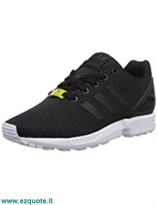 cheap for discount a3d81 3491e adidas zx flux nere e oro rosa