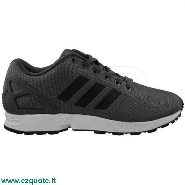 adidas zx flux bianco e nero