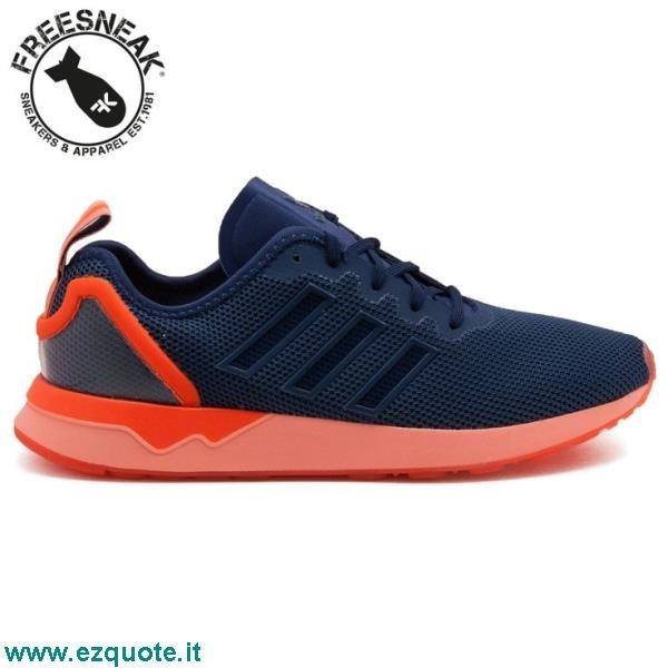 design de qualité 33fdb b8f12 Adidas Zx Flux Arancio Fluo ezquote.it