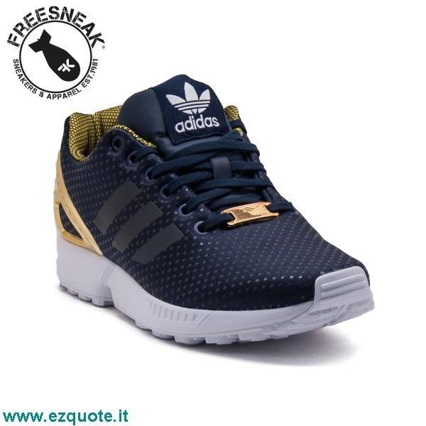 adidas zx flux oro e nere