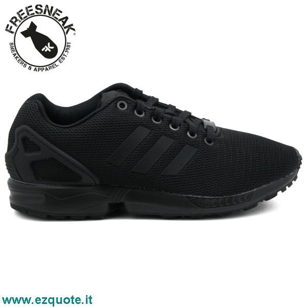 Adidas Zx Flux Total Black