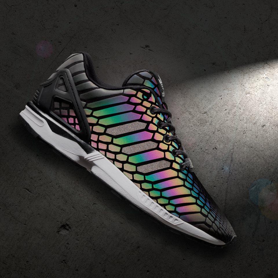 Adidas ZX flux argentato