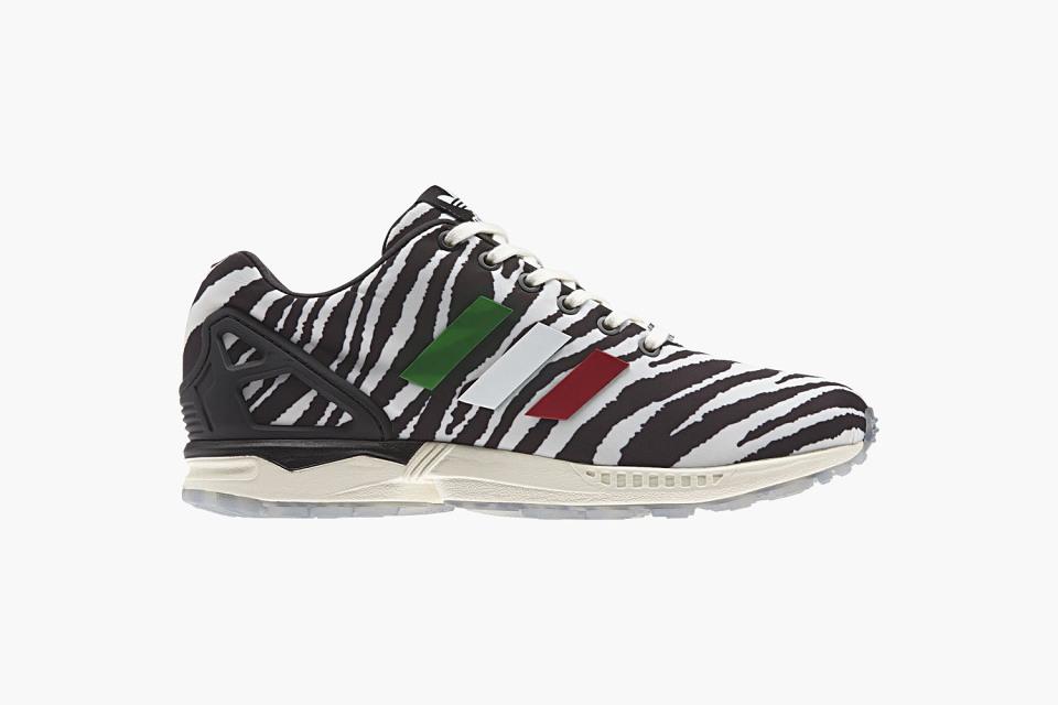 scarpe adidas zx flux zebrate