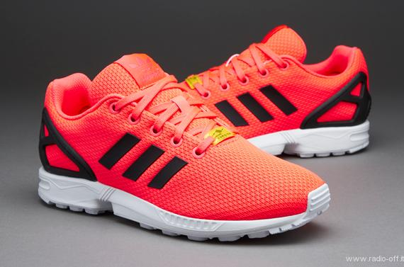 adidas zx flux arancione