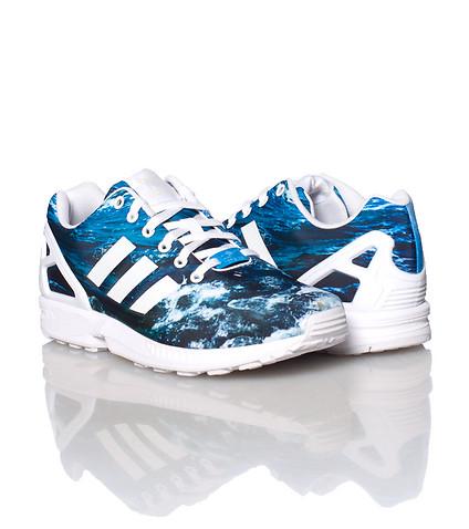 Adidas ZX flux celeste