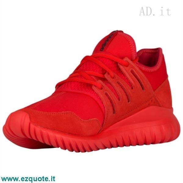 adidas sneakers alte rosse