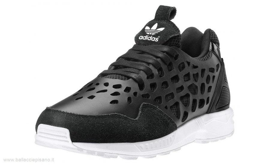 adidas zx flux leopardate nere prezzo
