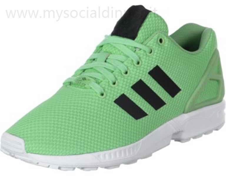 scarpe adidas verdi basse