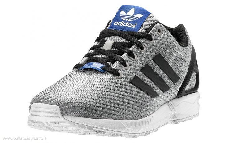 scarpe adidas zx flux uomo nere