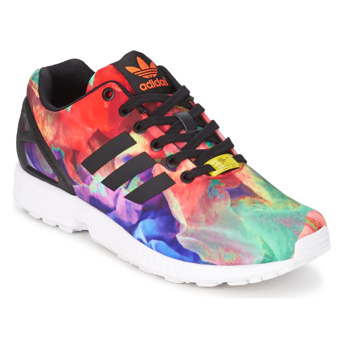 adidas zx flux multicolor uomo