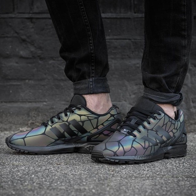 adidas zx flux noir foot locker