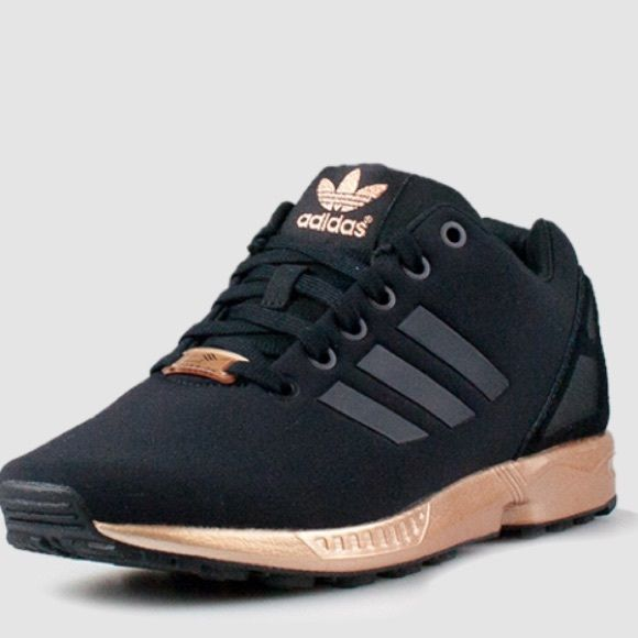 check out 298c4 0f9d6 Adidas Original Zx Flux All Black