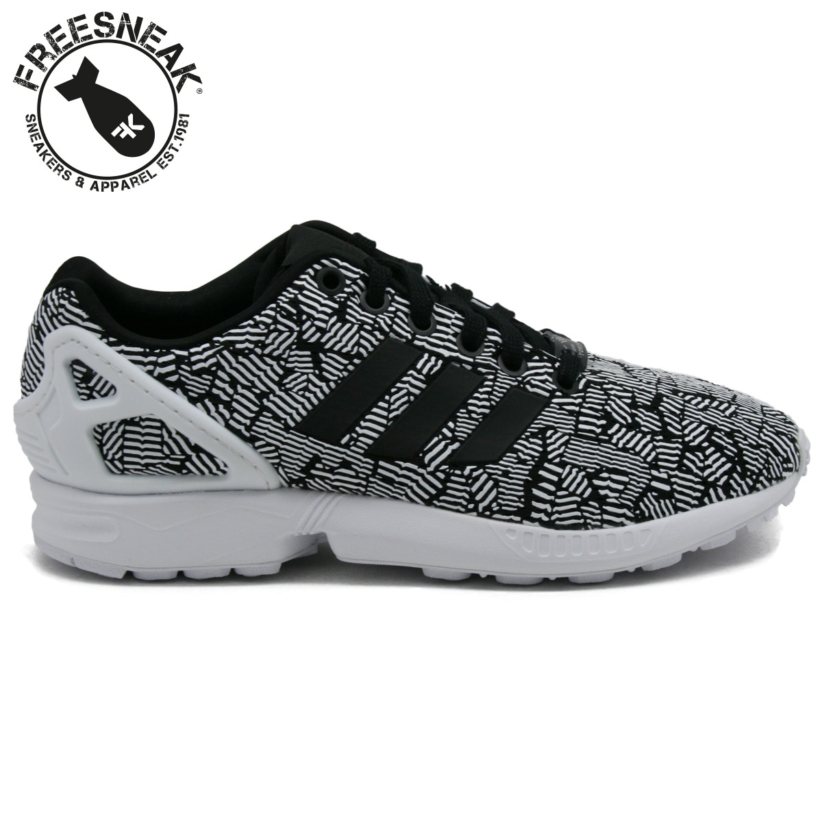 reputable site d80eb 6bae2 Adidas Zx Flux Bianco