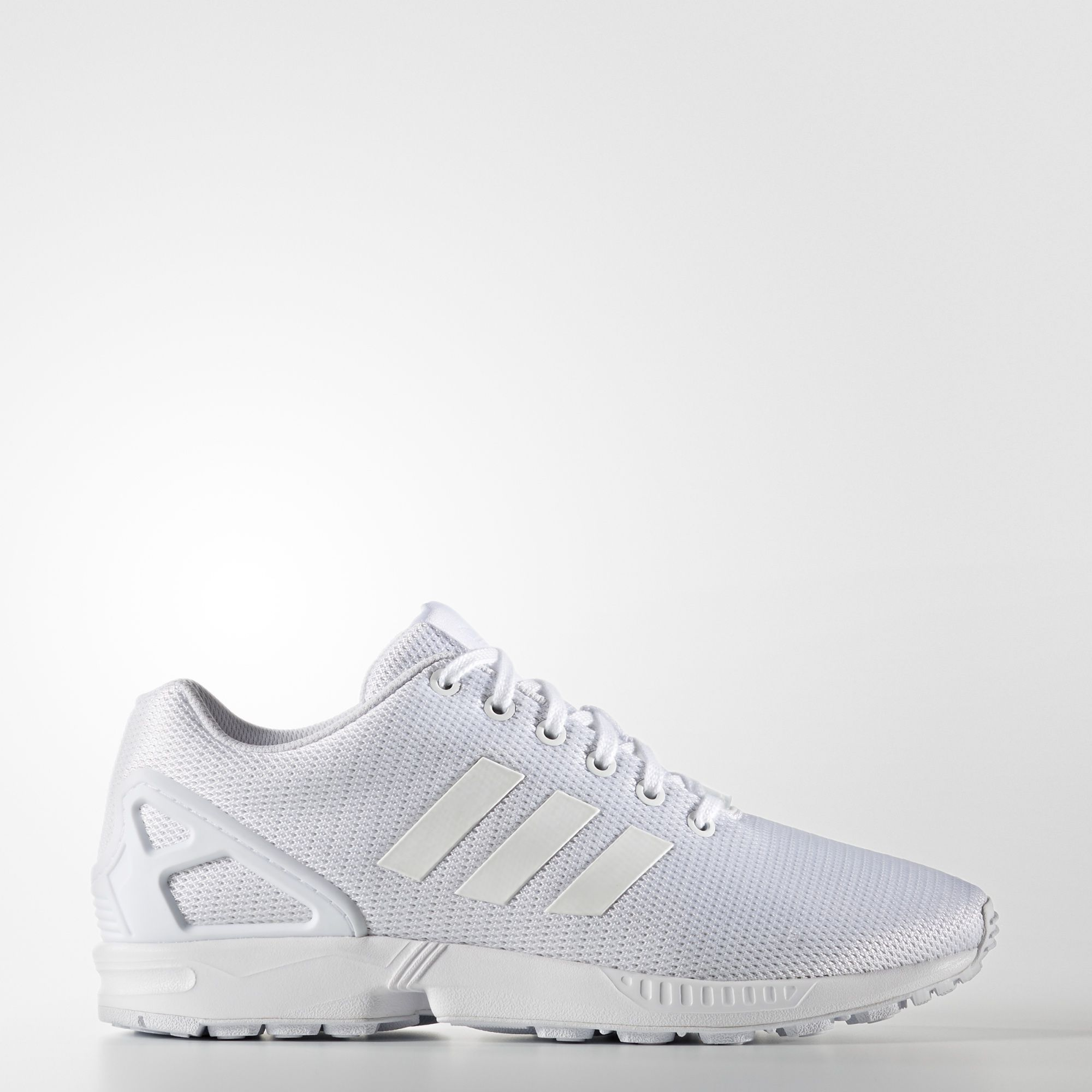 finest selection e6c77 ef176 ADIDAS Da Uomo Scarpe da training Zx Flux Bianco sporco Bianco 4 UK