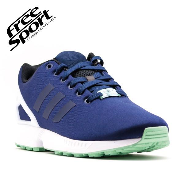 Adidas Zx Flux Blu Arancio