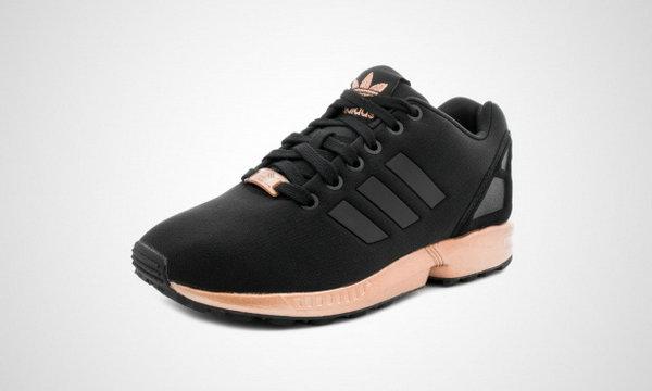 adidas zx flux donna nere e oro