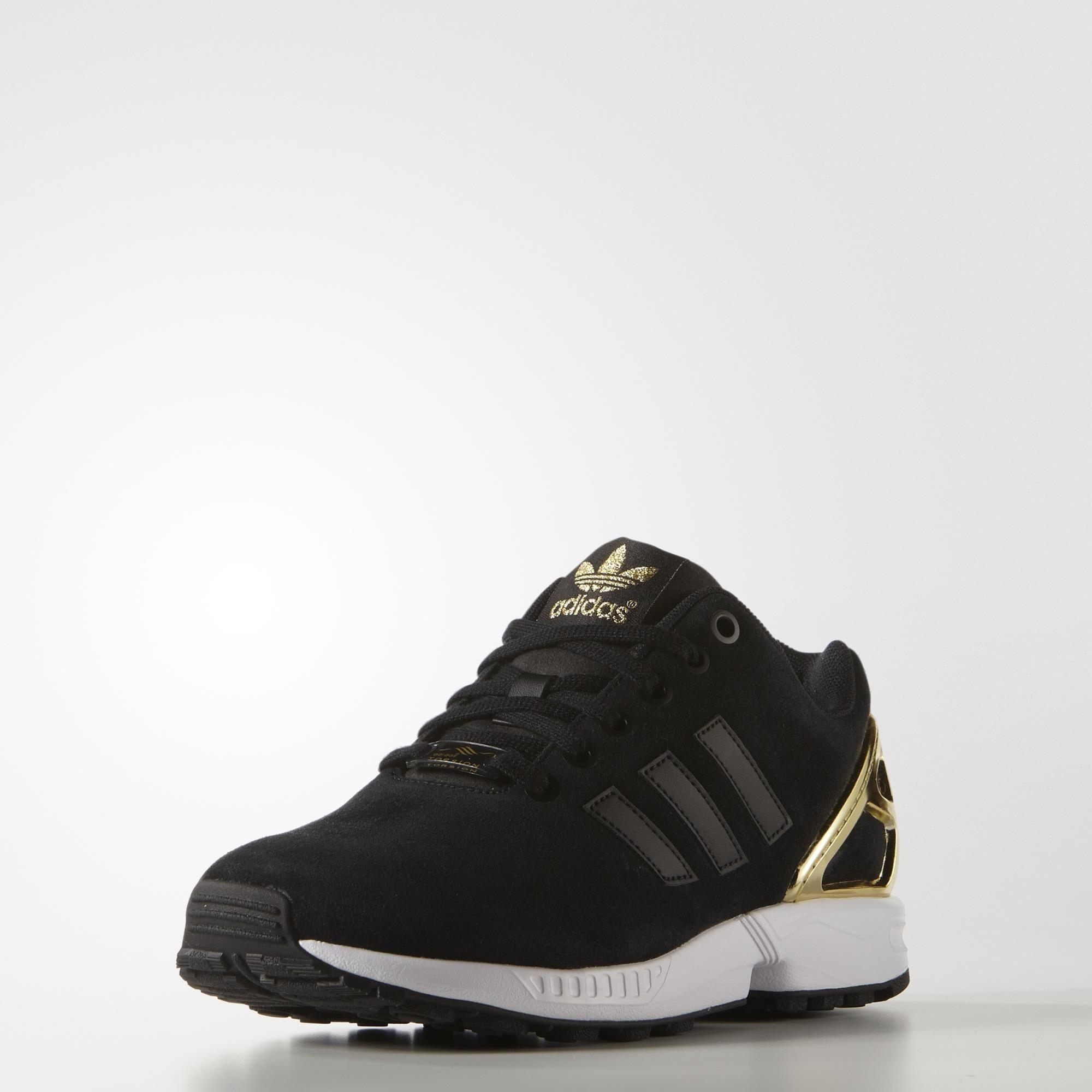 adidas zx flux donna nero e gold