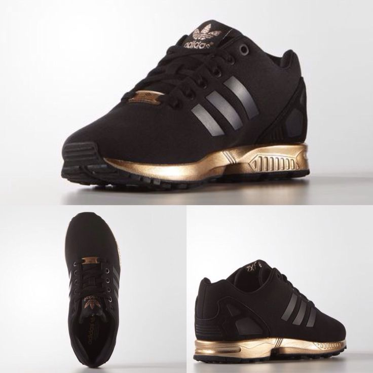 Adidas Zx Flux Gold And Black Prezzo